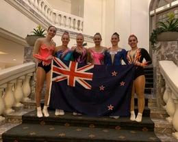 NZ AG 2 and Senior Women competitors after heats.